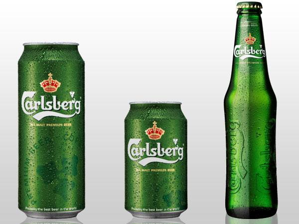 Original Carlsberg, Carlsberg Beer Cans/bottles,