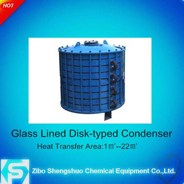 Glass-lined Disk Type Condenser