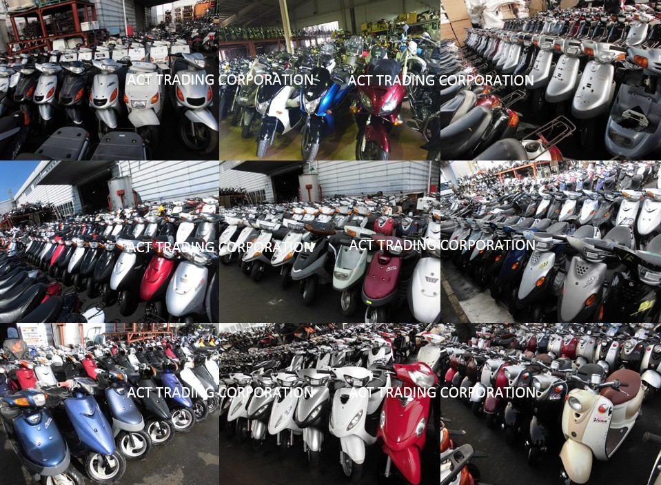 USED SCOOTER FROM JAPAN