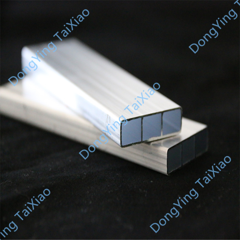 Aluminum harmonica-shaped tube for automobiles