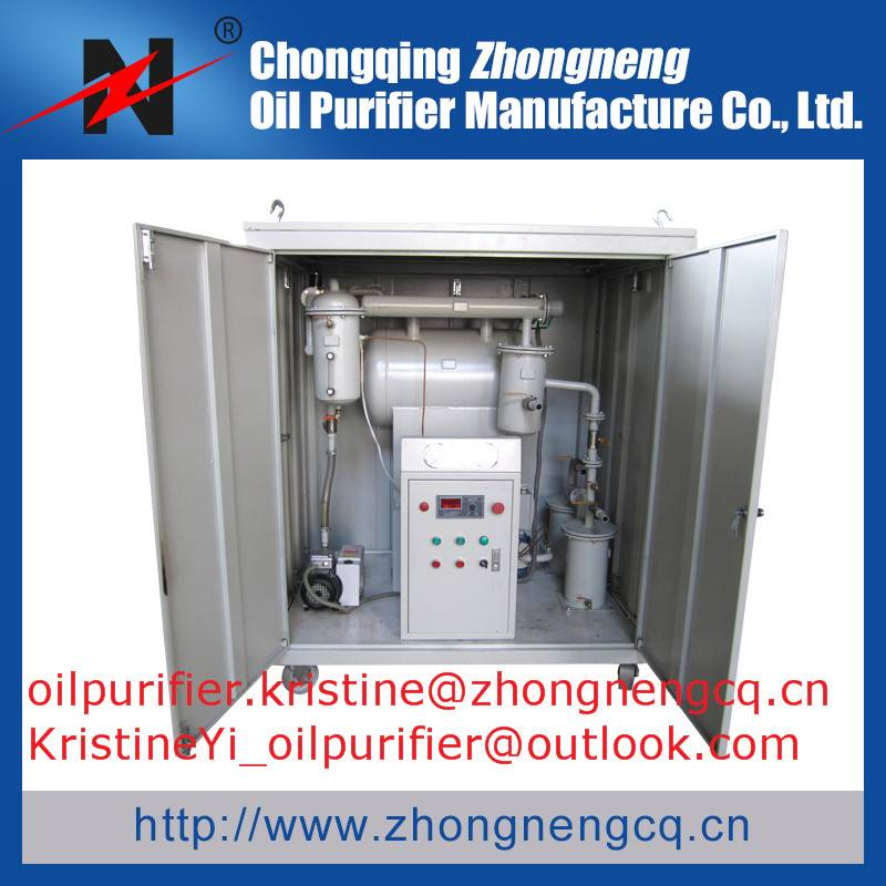 ZYB-M Mobile Type Single Stage Vacuum Transformer Oil Regeneration Purifier