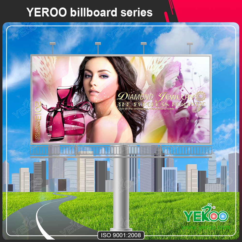 Flex Banner Front Lit Digital Billboard Manufacture