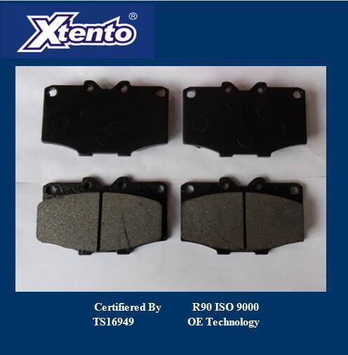 HONDA SEMI METALLIC BRAKE PADS