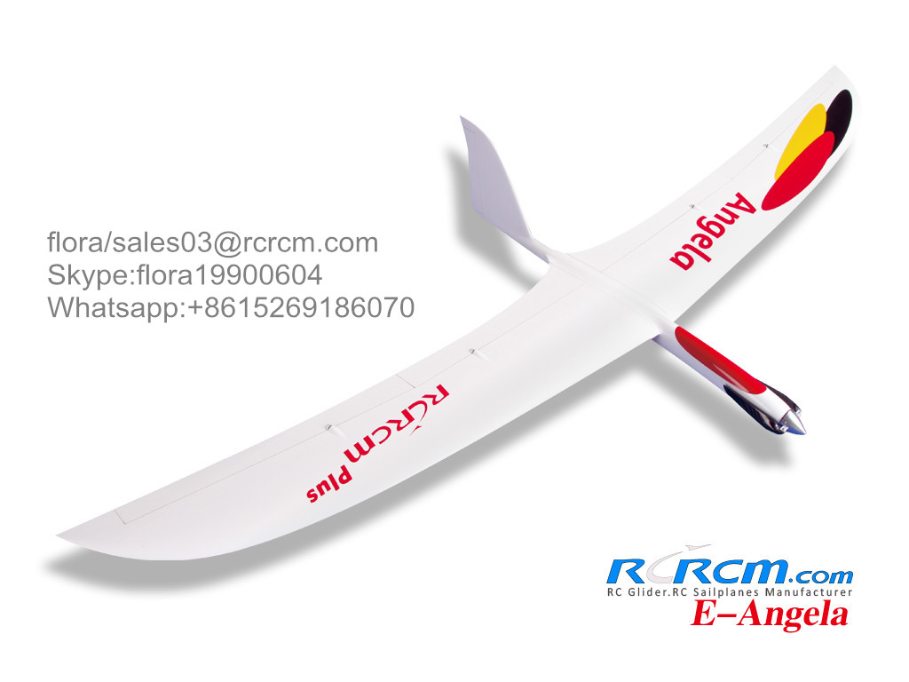 Angela rc composite glider in full carbon version