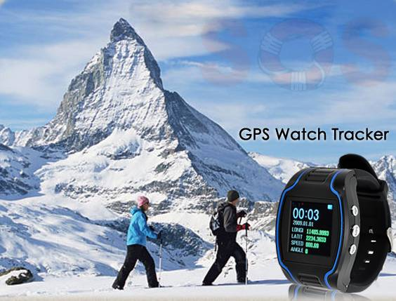 Watch GPS Tracker with geo fence function and all 4 frequencies