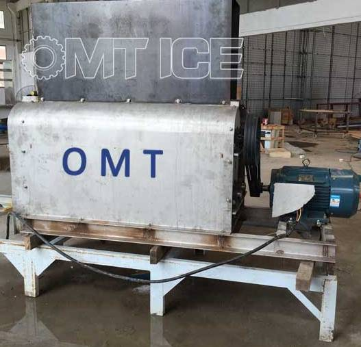 OMT 30-50ton Ice Crushing Machine