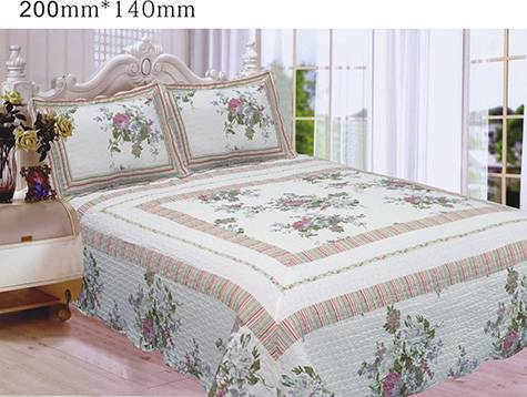 100% cotton printed patchwork quilts