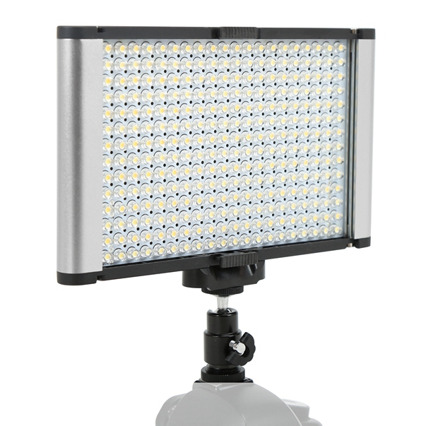 Ultra Thin Studio Variable-Color On-camera LED Video Light for DSLR Film Shooting