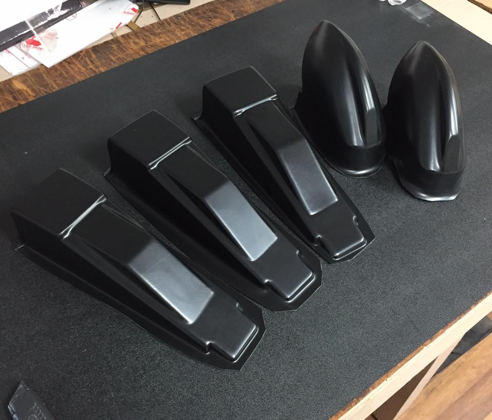 Customized vacuum thermoforming plastic pressure formed covers