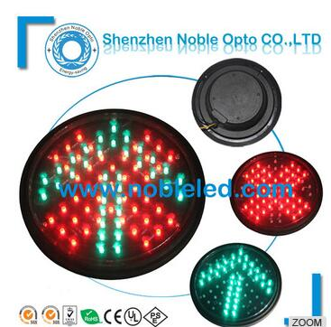 road safety red cross green arrow 12V led signal traffic light module