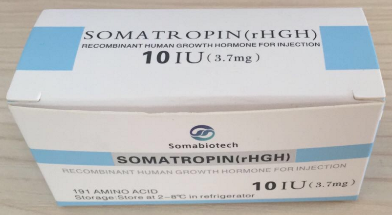 Somatropin rhgh(Recombinant growth for injection) 10iu10vials