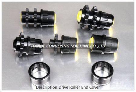 drive roller plastic end cap bearing housing, drive roller plastic end cover