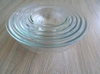 Oven safe borosilicate glass bowls