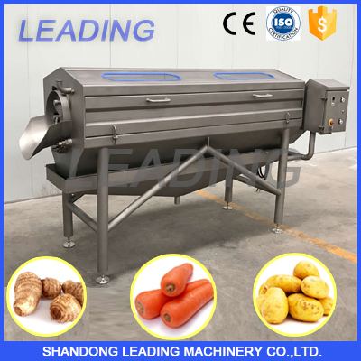 Automatic potato peeling machine