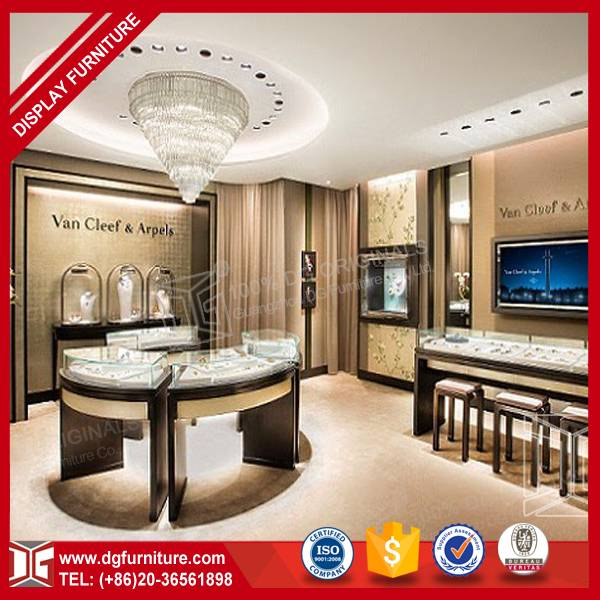 High quality hot sale jewelry display cabinet