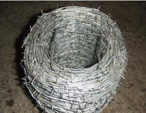 Hot-dip Galvanized Barbed Wire,