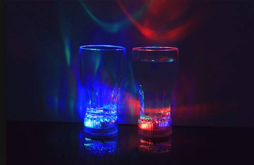 novelty items led light cup party supplies