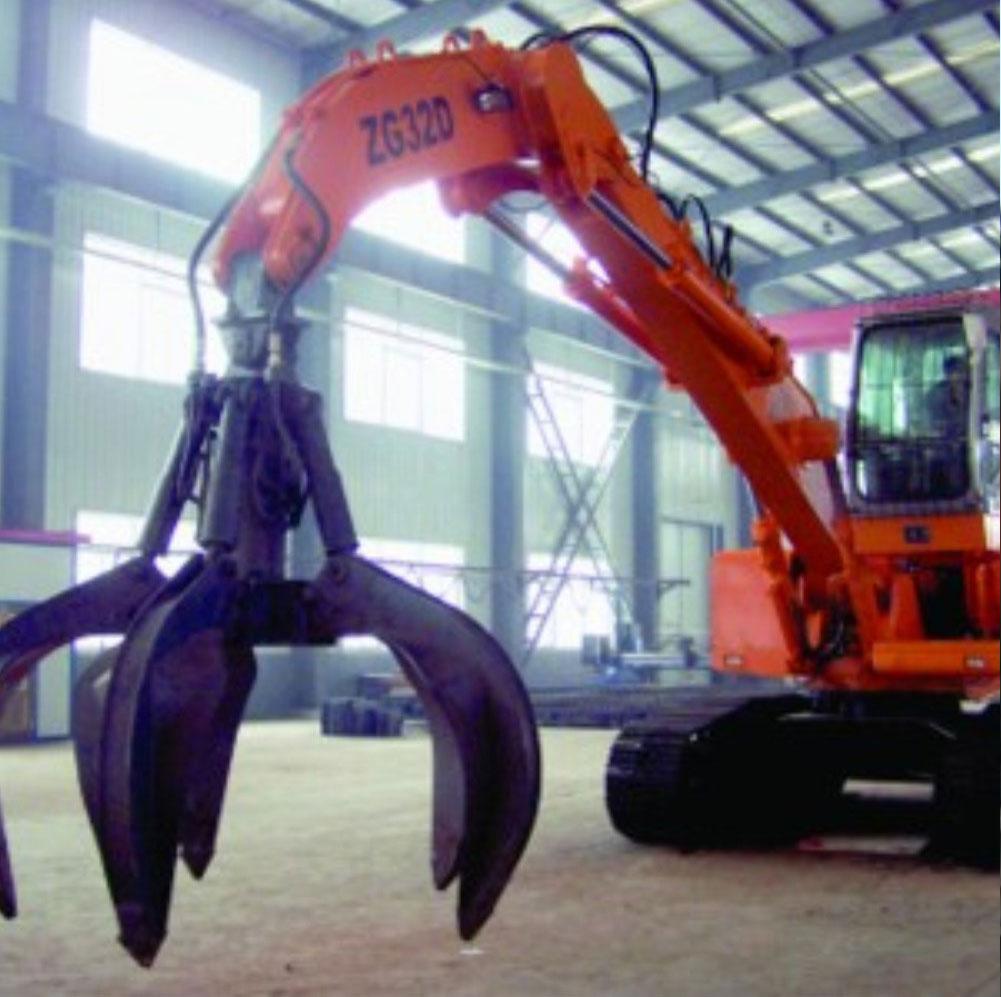 Hydraulic Organge Grab