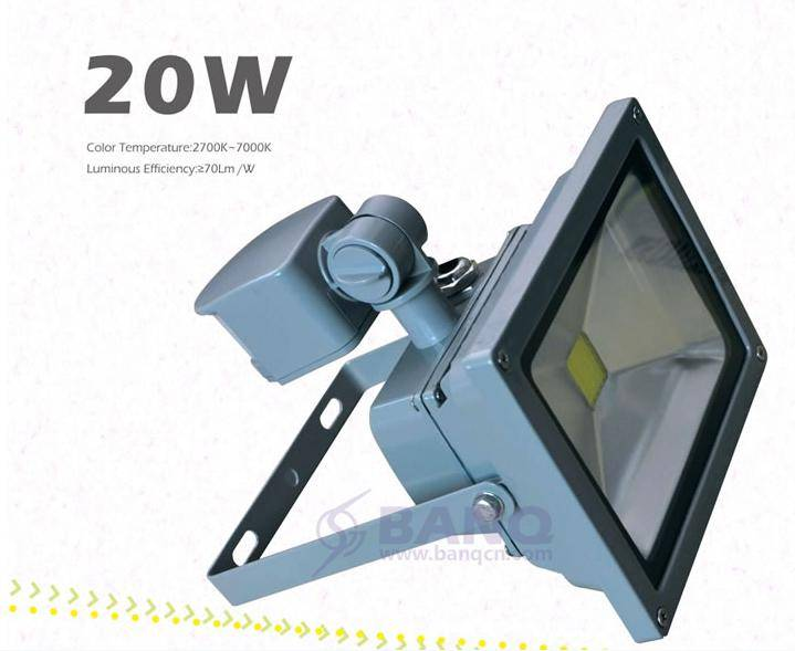 Banq sensor LED floodlight 20w IR lighting