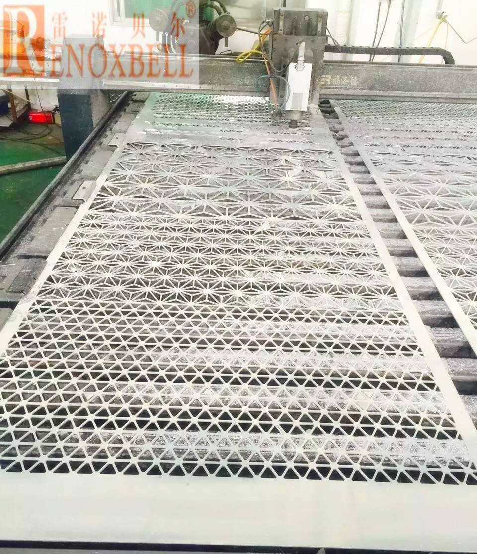 CNC Engrave Aluminum Panel For Curtain Wall Decoration