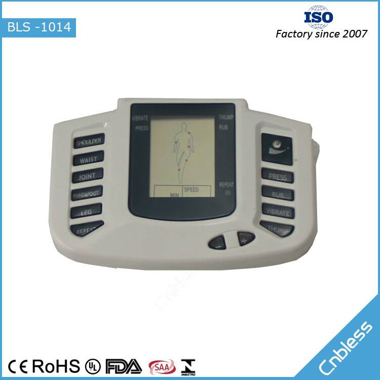 Big LCD four therapeutic models electronic Pulse Massager