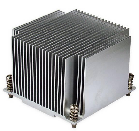 2U extrusion aluminum electronic heat sink