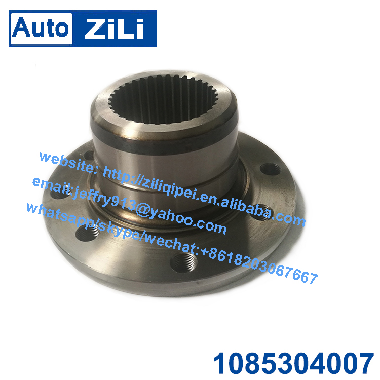 1085304007 QJ805 ZiLi bus and truck transmission gearbox 40Cr forged retarder flange