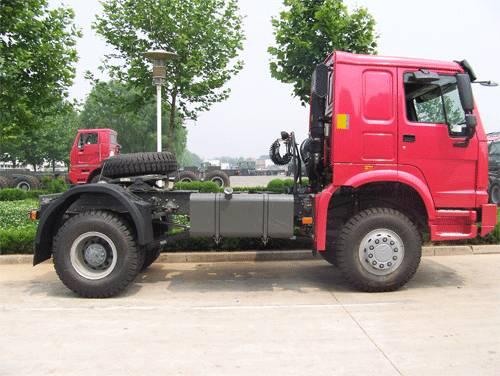 SINOTRUK HOWO All-Wheel Drive Tractor (4x4,6x6)