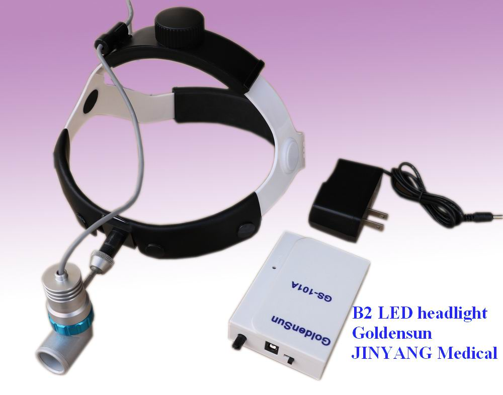 Rechargeable medical ENT led head lamp for doctor