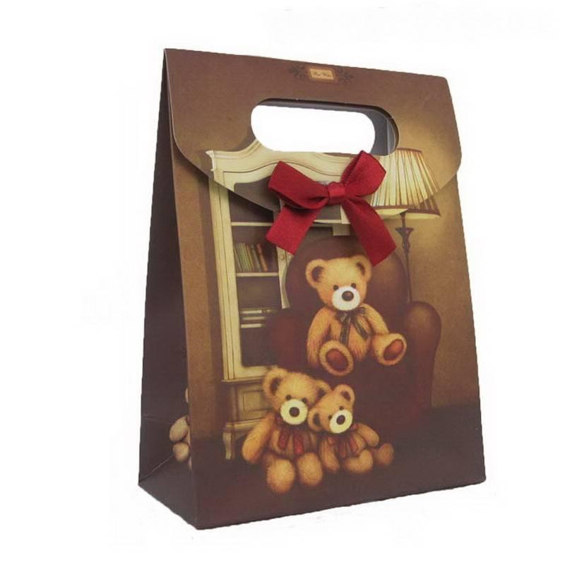 bear family paper bag