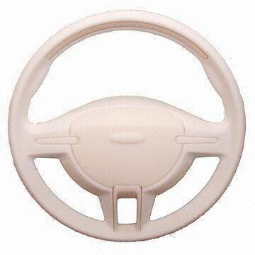 steering wheel-plastic injection molded