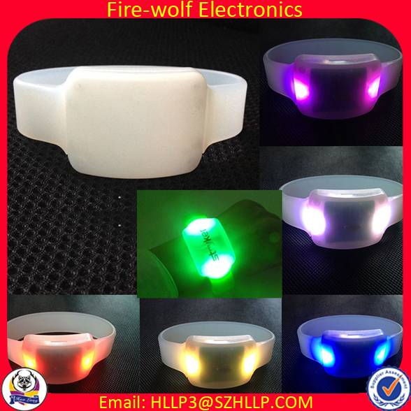 RFID LED Wristband NFC Lighting Bracelet for Event,Music Festival