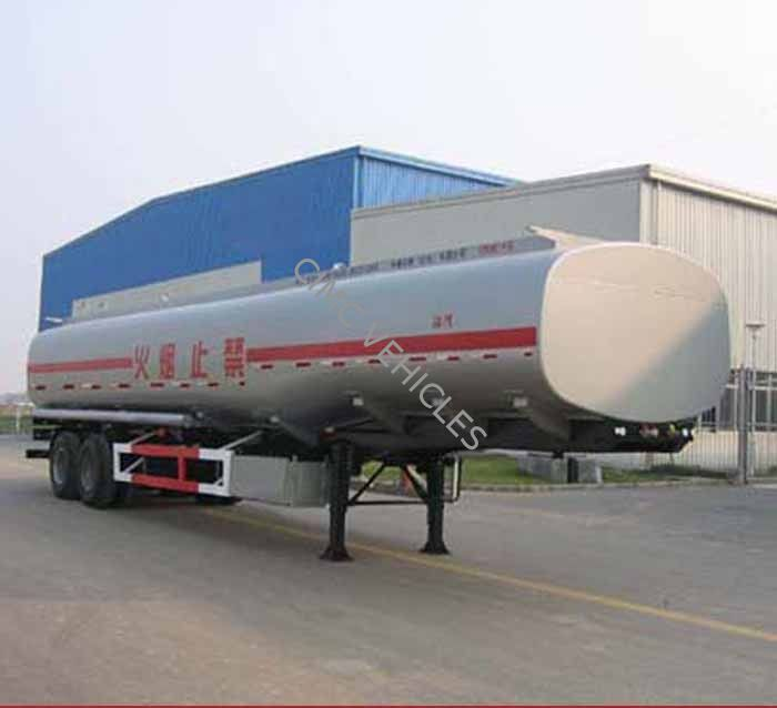 Carbon Steel Fuel Tank Semi-Trailer with 3 axles 25000L