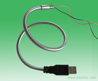 Gooseneck tube with USB port