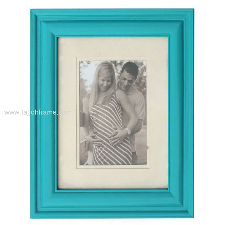 New Design Wide Linear Wooden Photo Frame