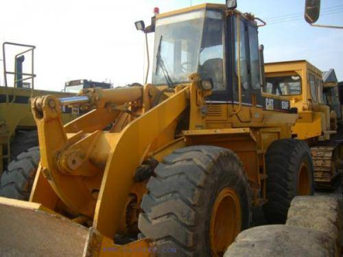 Used CAT938F wheel loader