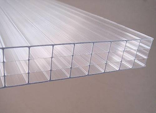4-Wall R-Structure Polycarbonate Multiwall Sheet Greenhouse