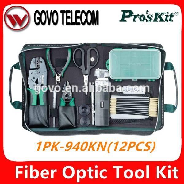Pro'sKit 1PK-940KN Quick Connetor Termination Fiber Optics Tool Kits