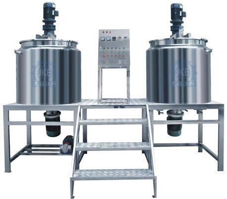Facial Cream/BB Cream Making Machine Cosmetic Lotion Mixer Cosmetic Mixing Tank