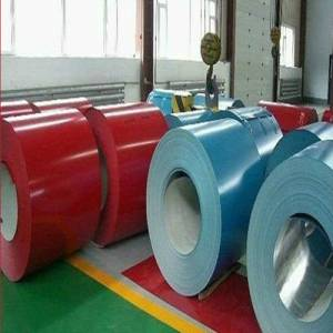color coated steel coil for building