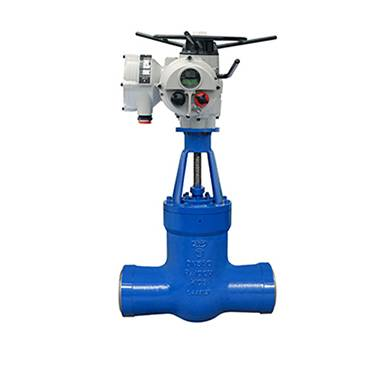 The power station gate valve