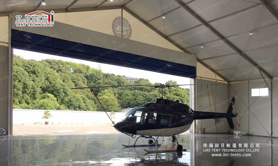 25x25m Hangar Tent for AW139