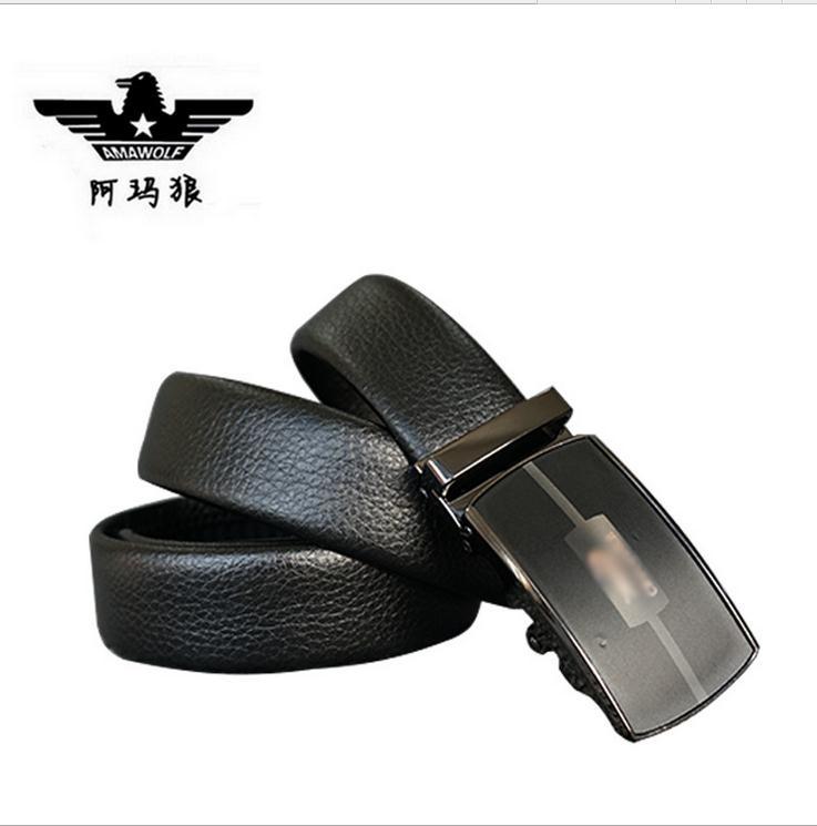 man's leather belt