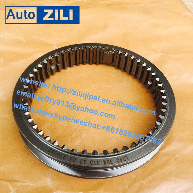 high performance high quality 1240304375 Gearbox QJ805 5S-111GP synchronous sliding sleeve for city