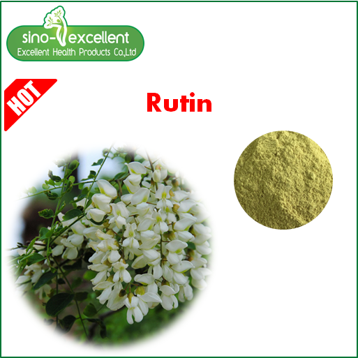 Sophora Japonica Extract CAS 153-18-4 NF11 95% Rutin