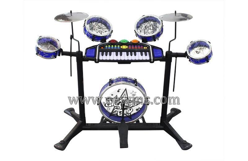 Multi-function toys musical toys keyboard with drum