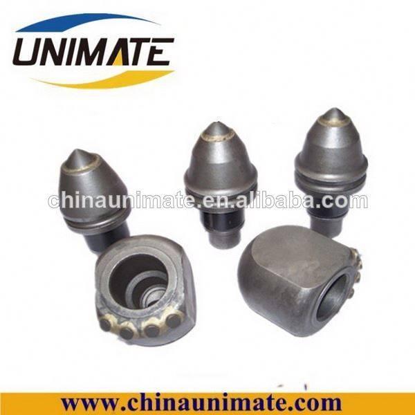 Unimate rock drill bits, carbide tipped coal mine drill bit,bucket teeth & adaptor
