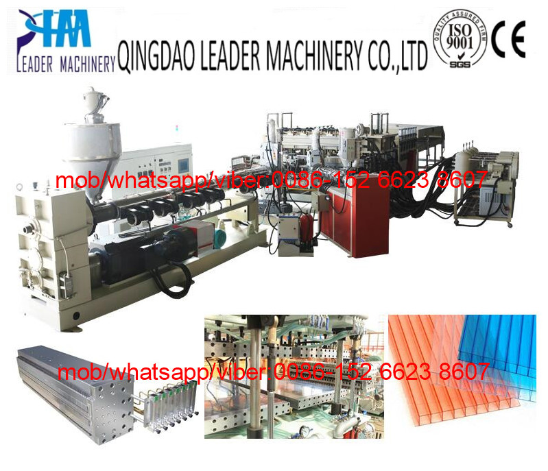 Polycarbonate PC sunshine panel production line
