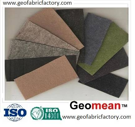 800gsm Filament PET/PP spunbonded needled punched non woven geotextile fabric