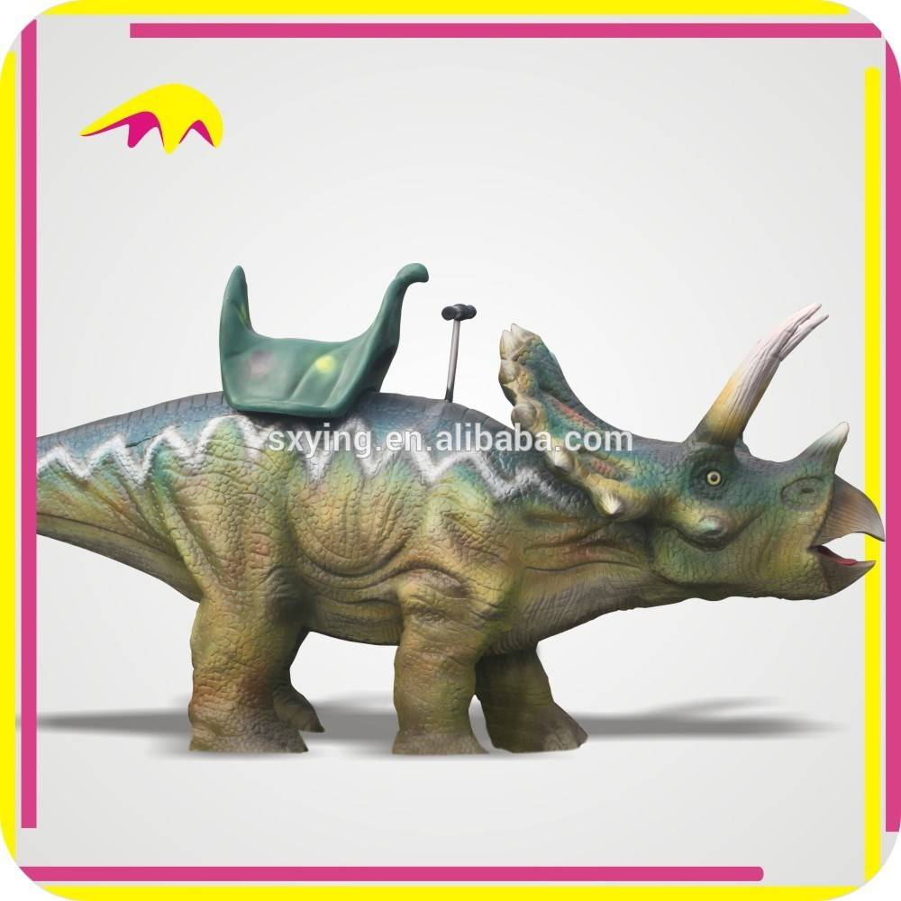 KANO0008 Realistic Animal Amusement Park Dinosaur Ride for kids